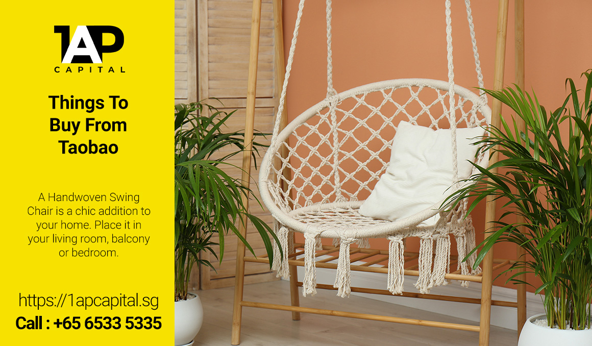 Things-To-Buy-From-Taobao-To-Lower-Cost-Of-Home-Renovation-Handwoven-Swing-Chair-Singapore