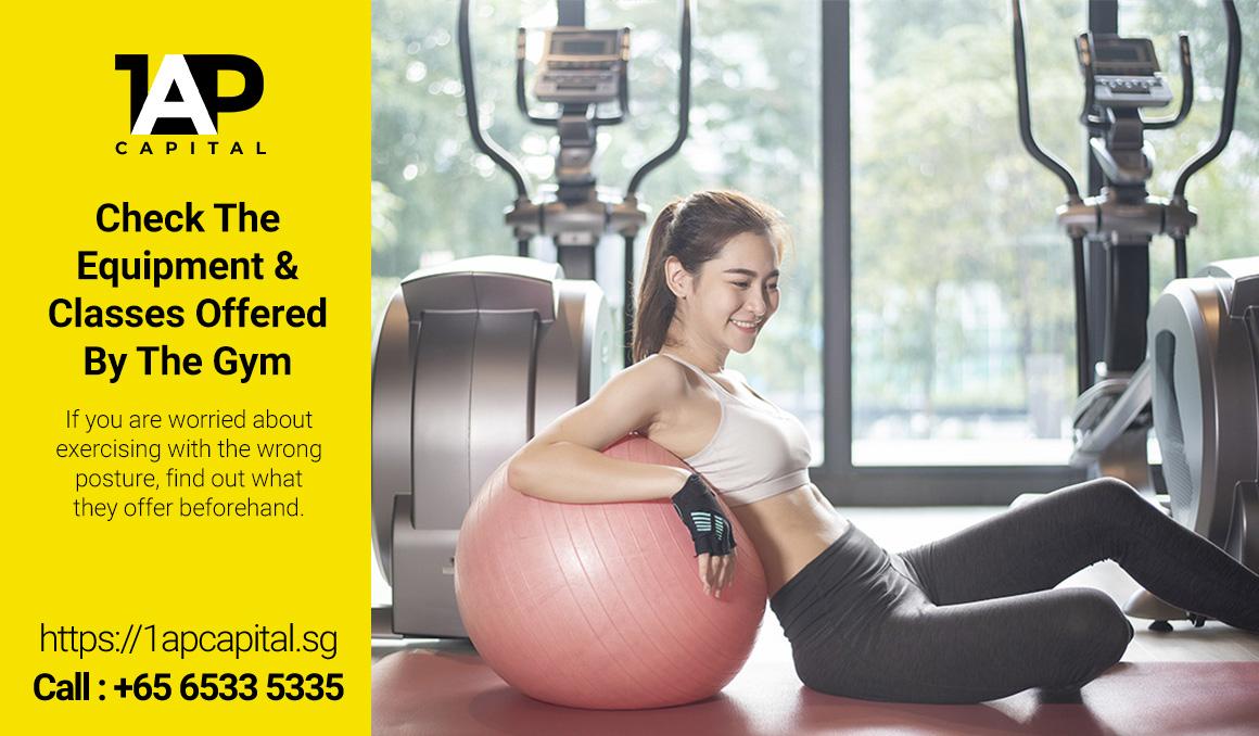 Gym-Equipment-And-Classes-Singapore-1AP-Capital-Licensed-Moneylender
